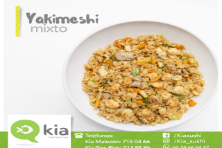Yakimeshi Mixto (mediano)