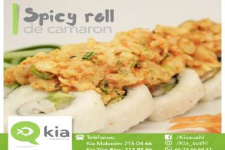 Spicy Roll de Camarón